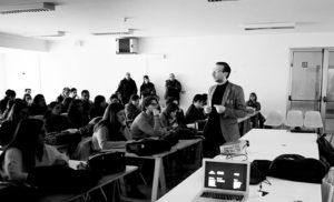 Lectio Gianni Latino. Palermo, 1 dicembre 2016. Foto Filippo Maria Nicoletti.