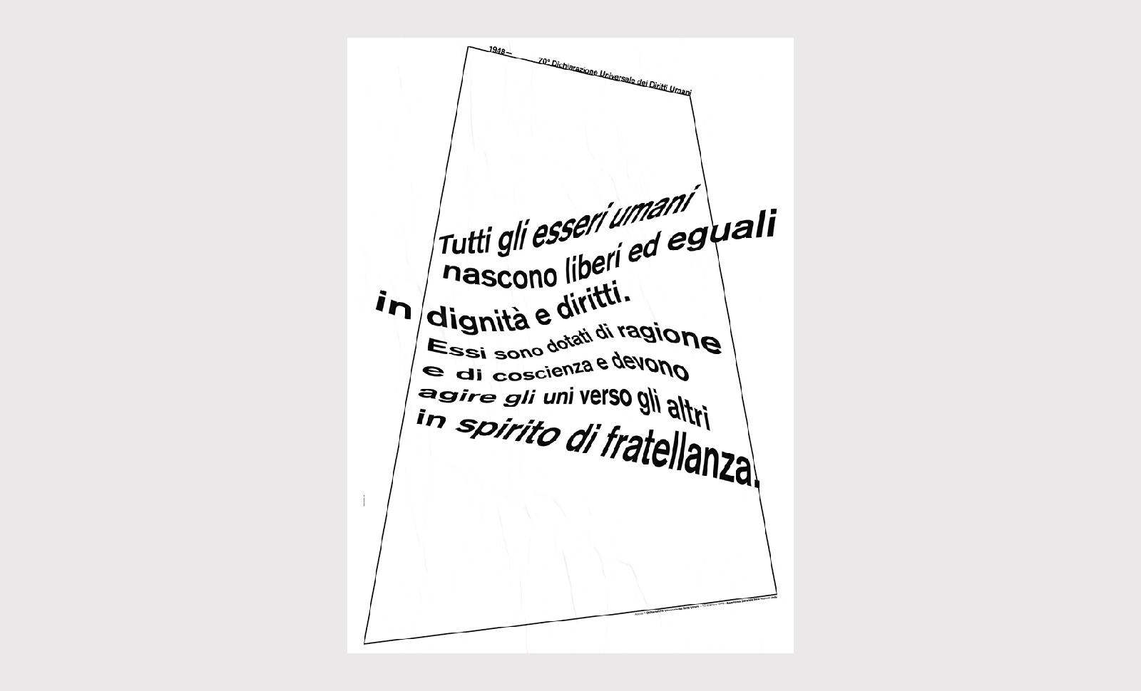 Gianni Latino, Liberi ed eguali, 70x100 cm, 2019